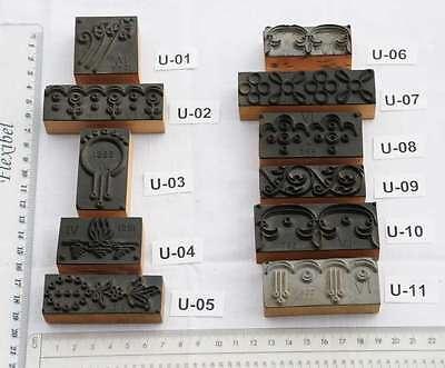 Wäschestempel Ornamente Jugendstil Stempel Stoffstempel Vintage Art Nouveau
