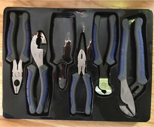 5 piece Wrench and Plier Set - Mastercraft