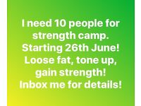 Fast camp, fast weight loss for ladies only in Sale
