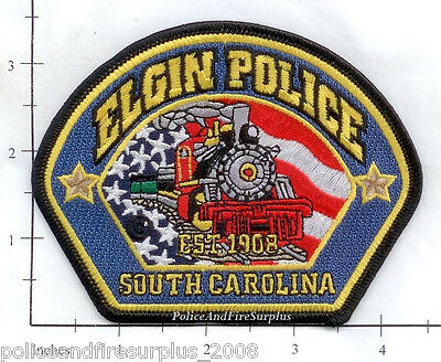 South Carolina - Elgin SC Police Dept Patch