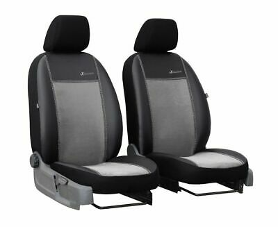 2 x Fronts Nissan Vanette Luxury Padded Leather Look Van Seat Covers
