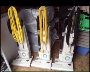 3 Lindhaus HEPA RX 380e Commercial Vacuums