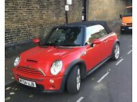 Mini Cooper S Convertible 1.6 - Full Service history - Lady owner - for sale