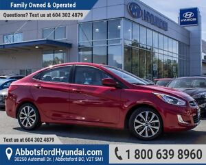 2017 Hyundai Accent SE ACCIDENT FREE, BC OWNED & LOW KILOMETRES