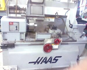 2005 Haas TL-1 CNC Tool Room Lathe Excellent Running Condition