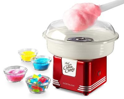 Cotton Candy Maker Machine Retro Vintage Sugar Floss Party Home Gadget Toy Gift