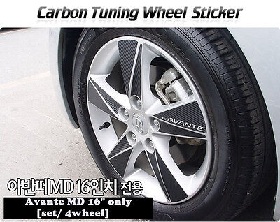 2008-2010 Captiva//Winstorm 17inches Carbon Wheels Mask Decal Sticker No.46 Trim