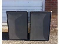 Passive Subs and Power Amp for Disco (with Crossover & Rack Case) Perfect for Mobile DJs and Venues