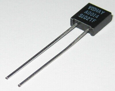 Vishay 2m Ohm High Precision Foil Resistor With Leads - 0.05 Tolerance