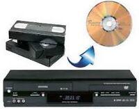 Transfert vidéos VHS et Hi8 (8mm) en format numérique