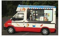 Ford Transit HARD ICE CREAM VAN