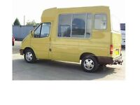 FORD TRANSIT CATERING/ICE CREAM/VENDING VEHICLE