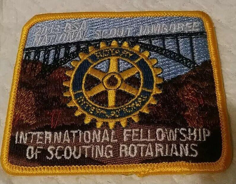 2010 BSA International Fellowship of Scouting Rotarians Patch National Jamboree