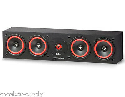 """Cerwin Vega SL-45C Quad 5 1/4"""" Center Channel Speaker 150 Watt Home Theater SL45"""