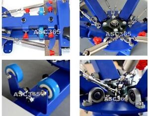 Screen Printing Table Type 4 Color 1 Station Screen Printing Machine