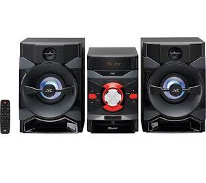 JVC MX-DN550 MEGASOUND HI-FI STEREO SYSTEM 400W RMS BLUETOOTH USB CD PLAYER