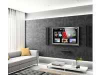 March offer! Professional TV wall mounting by trained engineer. Any size, any wall type LED LCD
