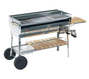 Barbecue acciaio inox carbonella