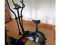 Roger Black Gold 2 in 1 Exercise Bike and Cross Trainer