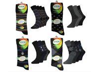 360 Pairs Mens Gents Everyday Socks Loose Top Non Elastic Socks Lot Wholesale Clearance