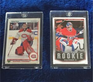 2 Carey Price Hockey Cards Victory Rookie & 25th Anniversary