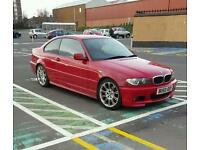 Rare 2006 320d red coupe msport