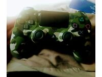 Green Camo PS4 controller, used a couple of times, in great condition. Paid 60 would like 40 ono