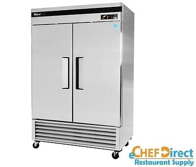 Turbo Air Tsf-49sd-n Super Deluxe 54 Double Door Reach-in Freezer