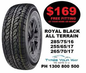Super Special on All Terrain Tyres Joondalup Joondalup Area Preview