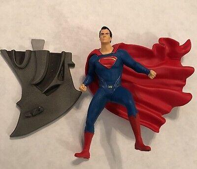 Superman From Batman Vs Superman Dawn Of Justice Hallmark Christmas Ornament NIB (Batman Christmas)