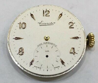 Everite Watch Dial And Movement
