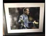 Signed and Framed Shay Given Photo