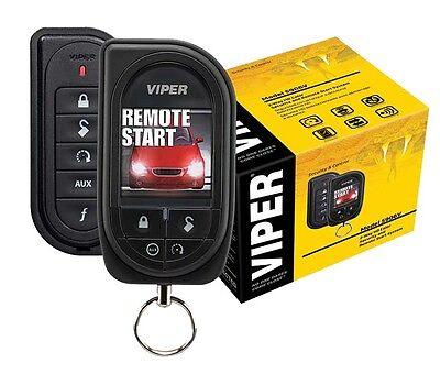 Viper Car Remote Start & Alarm 1 Mile Range Color OLED 2-Way Remote 5906V New