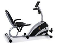 V-Fit recumbant exercise bike