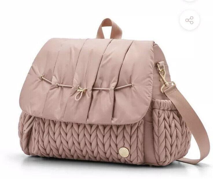 HAPP Brand Levy Diaper Bag Bundle Dusty Rose