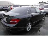 BREAKING MERCEDES W204 C CLASS 2012 ALL PARTS AVAILABLE BREAKING