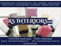 RS Interiors MK For All Your Painting and Decorating Needs. Internal/External