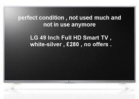 LG Smart TV 49 Inch Full HD