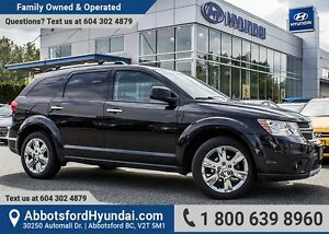 2012 Dodge Journey R/T CERTIFIED ACCIDENT FREE