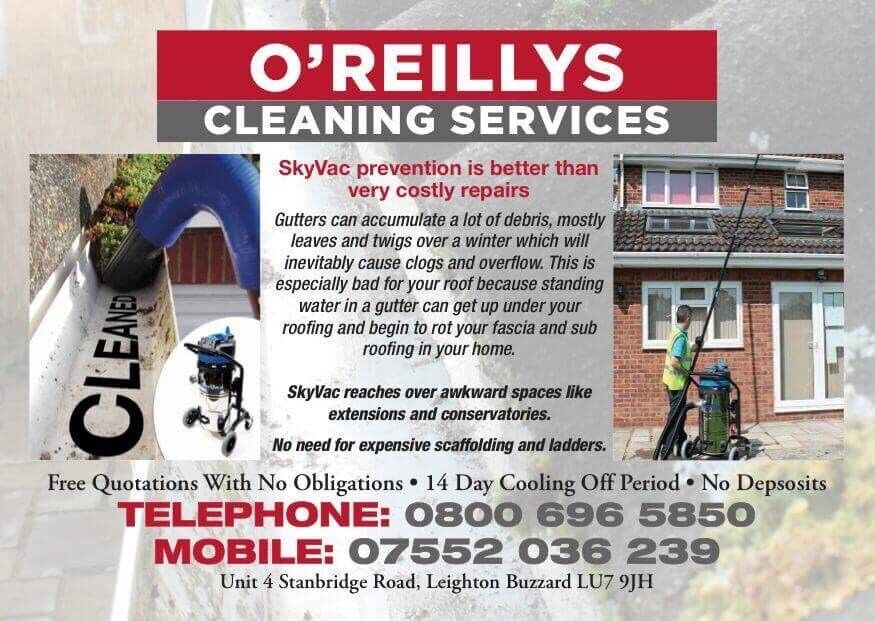 O'reillys gutter cleaning services