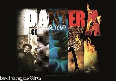 Pantera Dimebag Darrell Album Collage Cloth Fabric Poster Flag Wall Tapestry-New