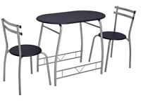 Dining table + 2 chairs set