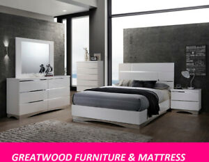 MODERN STYLE 6 PC QUEEN BEDROOM SET FOR SALE $1299 ONLY....