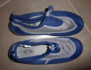 Water shoes, adult size 8, worn once