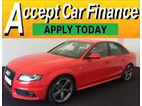 Audi A4 2.0TDI ( 170ps ) 2011MY Black Edition FROM £51 PER WEEK !