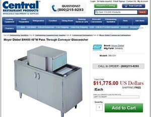OPENING A BAR OR RESTAURANT? GLASSWASHER  / GLASS WASHER
