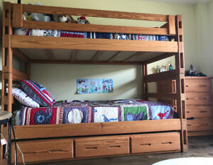 Crate Design Bunk Beds - Like New