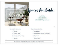 Cleaning Services, Residential