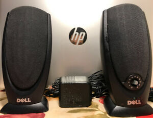 Wired Computer Laptop Music Audio Speakers (Dell A215)!