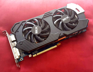 Carte graphique Radeon HD 6970 Dual-X 2Go